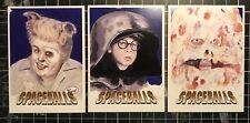 SPACEBALLS trading Cards Custom Lot Of 3 Original Art STAR WARS Autograph