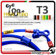 Kit brake hoses 3 Frentubo DUCATI MONSTER 1100 / 1100 S 2009/2010