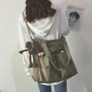 Lady Girl Woman Multi Pocket Shoulder Bag Tote Messenger Bag Handbag Knapsack