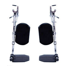 Wheelchair Elevating Foot Leg With Calf Rest Pad - ELR Leg Rests