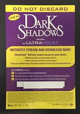Dark Shadows (2012) HD - UV Google Play Code (Tim Burton)