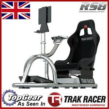 .Steel RS8 Racing Game Simulator Cockpit Simulation Seat Chair Race Gaming Rig