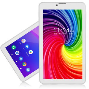 """Indigi® 4G 7.0"""" HD Powerful QuadCore Android 9.0 Pie Tablet PC WiFi + Bluetooth"""