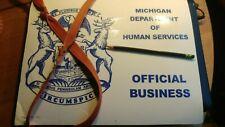 MAKE OFFER Detroit City Michigan Government Parking/Travel Pass Novelty item