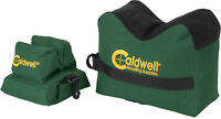 Caldwell DeadShot Boxed Combo Front and Rear Unfilled Shooting Bags Guns Rifles