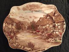 "Johnson Bros. England Olde English Countryside 12"" Platter"