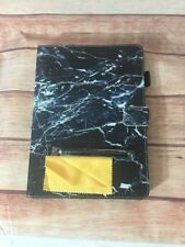 iPad 2/3/4 Case, Case Cover for iPad black marble look w/ stylus nwob