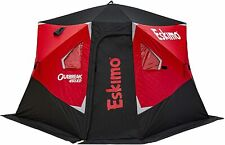 New Eskimo Outbreak 450Xd 4-5 Person 75 Sq Ft Ice Fishing Shelter
