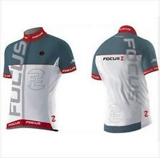 Focus Cycling Jersey Bike Racing Riding Tri MTB Pro Team Bicycle Jersey Small