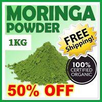 ✅ 1KG ORGANIC MORINGA OLEIFERA LEAF POWDER ✅ WHOLESALE PRICE - Premium Quality
