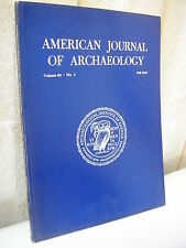 AMERICAN JOURNAL of ARCHAEOLOGY 1976 N°4