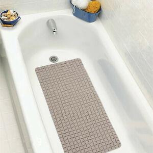 Soft Bath Tub Shower Mat Safety Shower Bathtub Mats Suction Cups Anti-skid