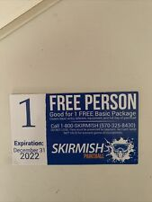 Free Person Skirmish Paintball