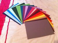 20 A5 SHEETS 240GSM CARD STOCK FREE POST 25+ COLOURS *YOU CHOOSE COLOUR*