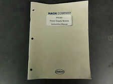 Hach Company PS1201 Power Supply Module Instruction Manual
