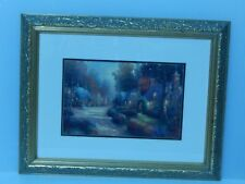 "Thomas Kinkade Print ""Autumn Cottages"""