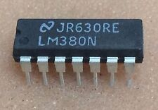 1 PC. lm380n National semicon. dip14 nos