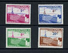 R795  Guatemala 1960   UNESCO  4v.   MNH