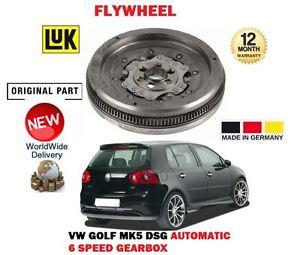 FOR VOLKSWAGEN VW GOLF MARK 5 2.0 TDI 2003-2009 DUAL MASS FLYWHEEL AUTO 6 SPEED