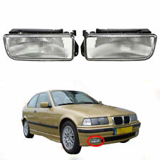 1Pair Front Fog Light Lens Cover for BMW E36 318i 318is 323i 325i 328i M3 90-00