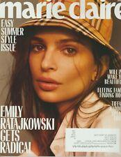 Marie Claire Magazine June 2018 EASY SUMMER STYLE Emily Ratajkowski