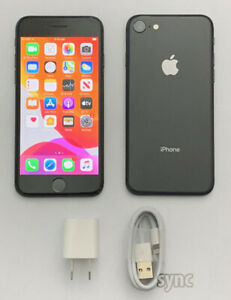 Apple iPhone 8 Factory Unlocked / Verizon T-Mobile AT&T - 64gb 256gb Smartphone