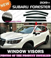WINDOW VISORS for 2019 2020 Subaru Forester / DEFLECTOR RAIN GUARD VENT SHADE