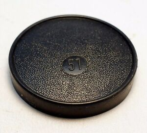 Lens Front Cap 51mm ID Slip on type 49mm rim unknown brand