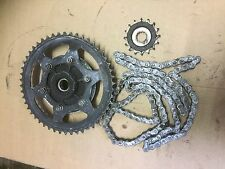 TRIUMPH TIGER 800 XRX 2015 CHAIN AND SPROCKETS