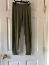 Lularoe One Size Yoga Pants Leggings Stretch Spandex/Poly Casual Wear Green