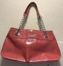 Kenneth Cole Reaction Large Tote Handbag Womens  Fuchsia!