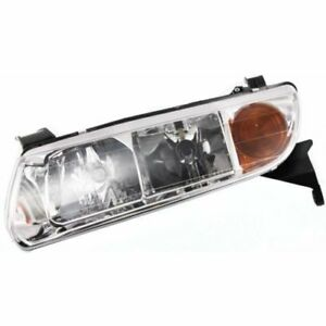 For L200 01-02, Driver Side Headlight, Clear Lens