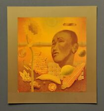 Victor Vasarely ÉTUDE EN JAUNE 1940 Grafik Kunstdruck Hochglanz Art Print 27x30