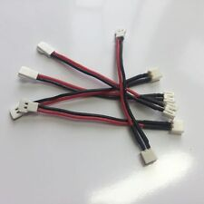 5x Male Charger Connectors cable with 8CM 24awg Wire for RC E-Flite Blade mCP-X