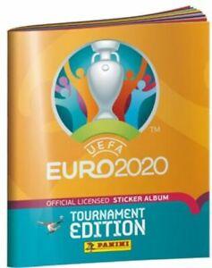 Panini - EM 2020 20 Tournament Edition - 20/30/50 Sticker aussuchen