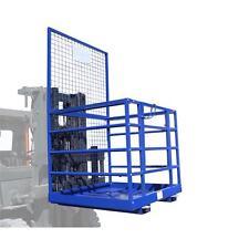 Arbeitsplattform Sicherheitskorb Stapler Traglast 250 kg Größe 1154x1224mm
