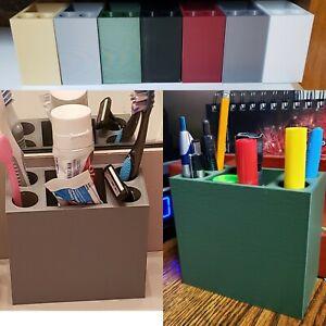Sleek & Modern Bathroom or Office Organizer-for Hygiene Items or Office Supplies