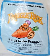 Fraggle Rock Toy McDonalds Happy Meal Jim Henson's GoBo Fraggle 1987