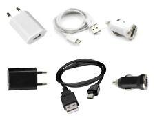 Chargeur 3 en 1 (Secteur + Voiture + Câble USB)  ~ Orange Tactile Messaging
