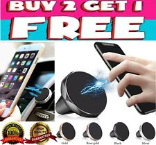 Car Magnetic Air Vent Mount Holder Stand Clip for iPhone Samsung Cell Phone GPS