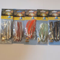 Behr 3 Norway Special Holographic Muppets Octopus Squid Sea Lures Rig 5 Colours