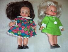 MINI FURGA  LISA e LUCIA  coppia Dolls con vestiti e scarpe
