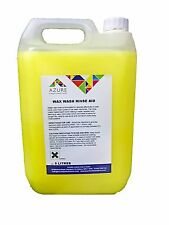 Azure Wax Rinse Aid Superior Shine Protects Paintwork Highly Concentrated - 5L