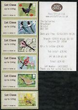 WINCOR TYPE II BIRDS 2 II 6x1st CLASS SET (STRIP/5+1) SG FS11 x6 POST & GO