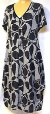 plus sz M/18-20 TS TAKING SHAPE Silhouette Dress funky soft stretch slouch NWT!