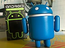 "Android 3"" Mini Series 2 Blue Bluebot Google Figure Toy"