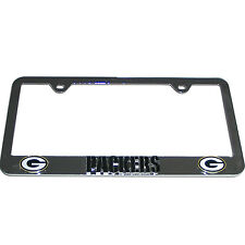 NEW GREEN BAY PACKERS - NFL TEAM LOGO 3D CHROME LICENSE PLATE FRAME