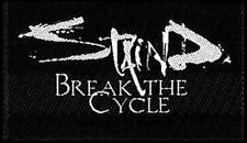 STAIND break the cycle WOVEN SEW ON PATCH official - no longer made