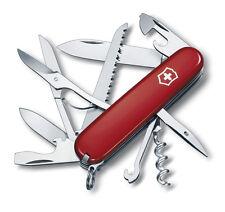 Victorinox Schweizer Taschenmesser Huntsman rot mit Gravur