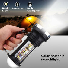 Solar Charge Camping COB LED Light Outdoor Portable Emergency Lantern Flashlight Mini(battery Not Include)